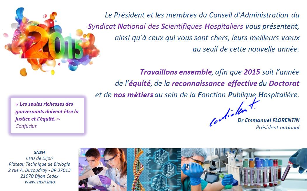 Célèbre décembre 2014 – Syndicat National des Scientifiques Hospitaliers  JE81